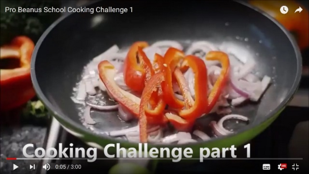 Cooking Challenge episode 1